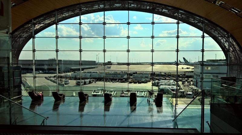 Charles de Gaulle Airport Paris France